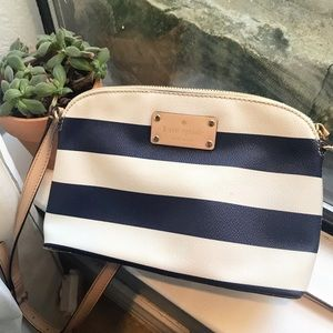 Kate Spade / Hanna Crossbody Striped Purse